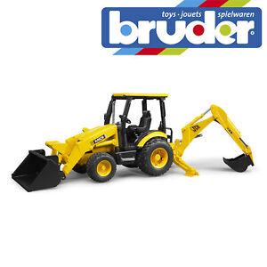 Bruder-JCB-MIDI-CX-Backhoe-Loader-Construction-Digger-Toy-Kids-Model-Scale-1-16