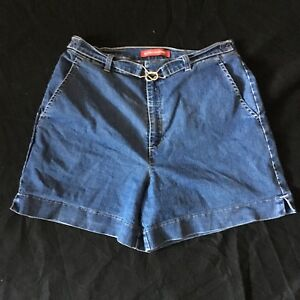 Vintage-Gloria-Vanderbilt-Denim-Jean-Shorts-Woman-039-s-12-Belted