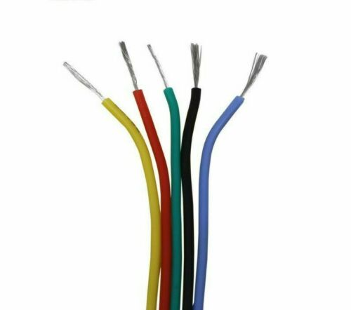 Multiple Conductor Electrical Cable Flexible Silicone Wire Copper Insulated Type