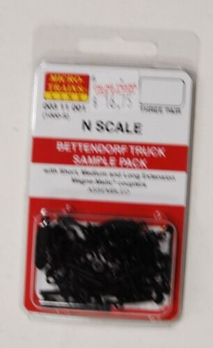 N Scale Micro Trains 00311001 Bettendorf Truck Sample Pack
