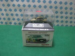 Vintage-BMW-M3-034-Diebels-Team-034-H0-1-87-Herpa-Motor-Sport