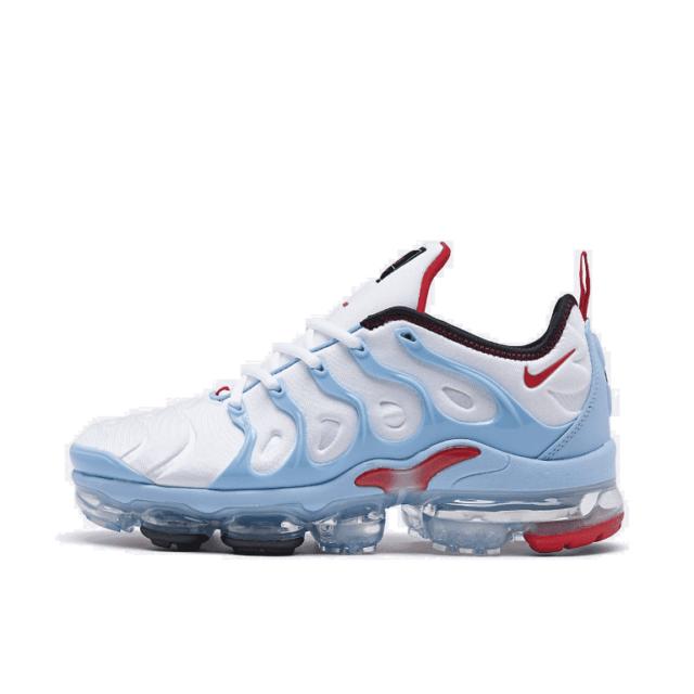 delicate colors separation shoes super quality 2018 Nike Air Vapormax Plus USA University Red White Blue B 924453 ...
