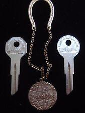 "AMERICAN MOTORS RAMBLER ""Magic Key Chain"" + Briggs & Stratton KEY BLANK SET AMC"