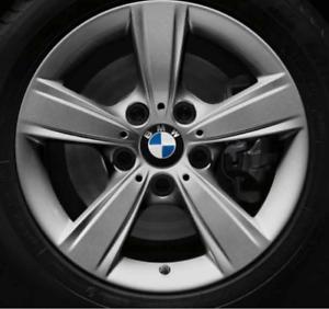 Original-BMW-1er-2er-Alufelge-Alufelgen-gebraucht-Sternspeiche-376-7x16-ET40