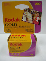 7 Rolls Kodak Gold Gb 200 Color Print Film 35mm X 36 Exp Date 02/2012
