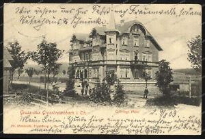 Ak-gruss De Grossbreitenbach-göhrings-hôtel-bahnpost - Tampon - 1903 --ch-göhrings-hotel-bahnpost-stempel-1903-fr-fr Afficher Le Titre D'origine