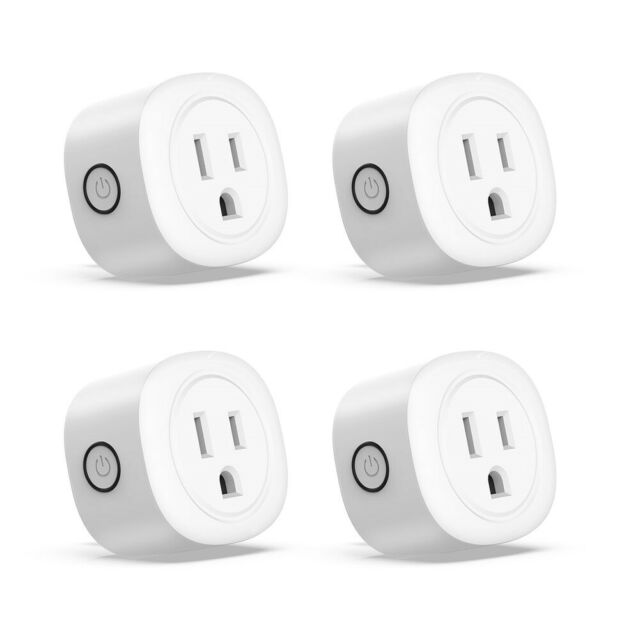 WiFi Smart Plug Power Switch Outlet Alexa Google Home Echo Wireless Socket US