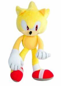 Plush Toy Sonic The Hedgehog Modern Super Sonic 12 Inch 655036977149 Ebay