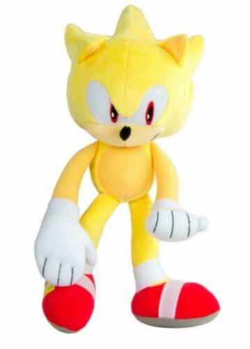 Sonic the Hedgehog Modern Super Sonic Plush Toy 12 Inch
