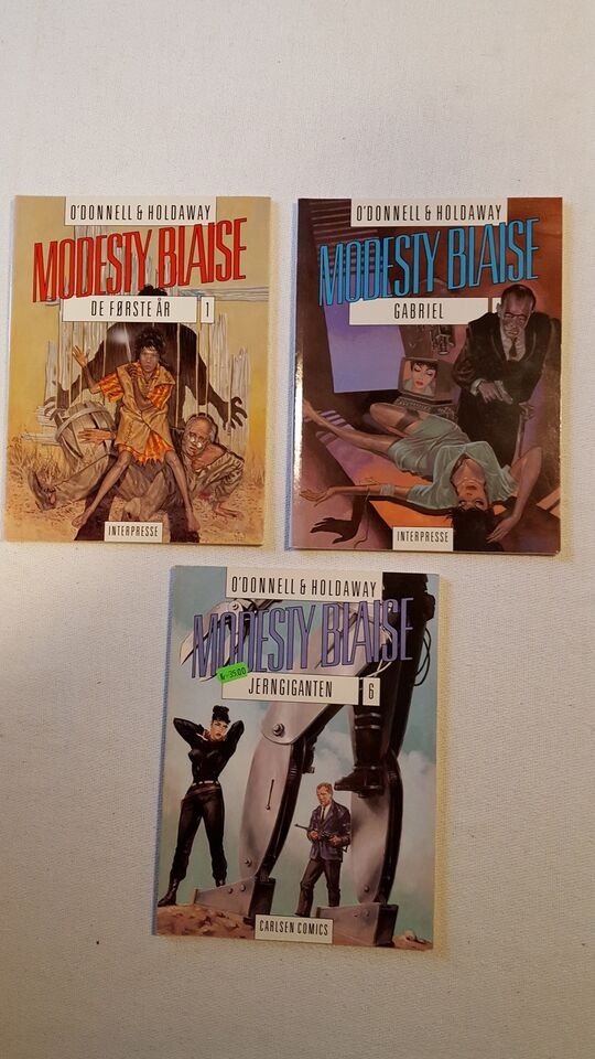 MODESTY BLAISE, PETER O`DONNEL, Tegneserie