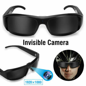 b7bd575261 Mini 1080P HD Spy Camera Glasses Recorder Hidden Sunglasses Cam ...