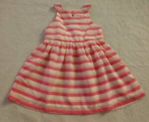 NWT Gymboree Dressed Up Striped Dress Baby Girl Wedding Easter