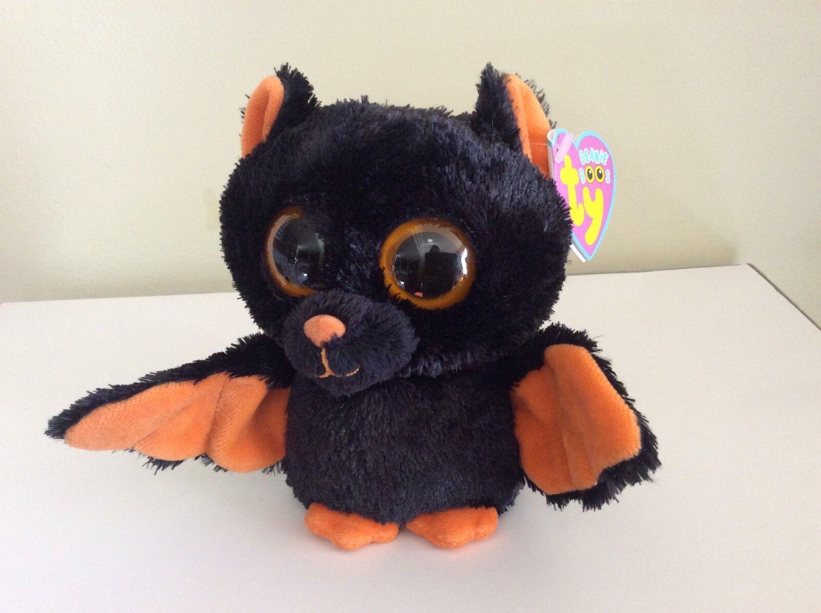 Ty Beanie Boo MIDNIGHT the Bat 6 6 Bat MWMT 7b5c19 - zenvetinc.com b45265eb4afc