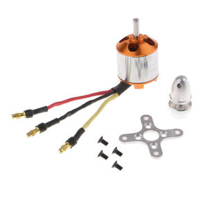 Details about Metal A2217 2700KV Brushless Motor for Fixed Wing Aircraft  5'' 6'' Propeller