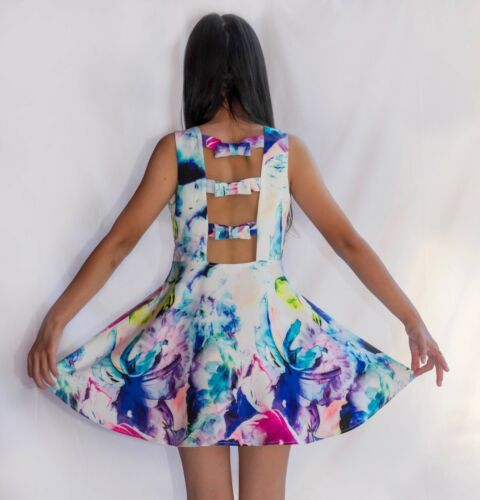 GIRL/'S TRIPLE BOW BACK DRESS
