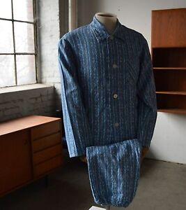 209ccfaf32 Das Bild wird geladen DREIKLANG-Herren-Schlafanzug-Pyjama-Auerbach-DDR-VEB -70er-