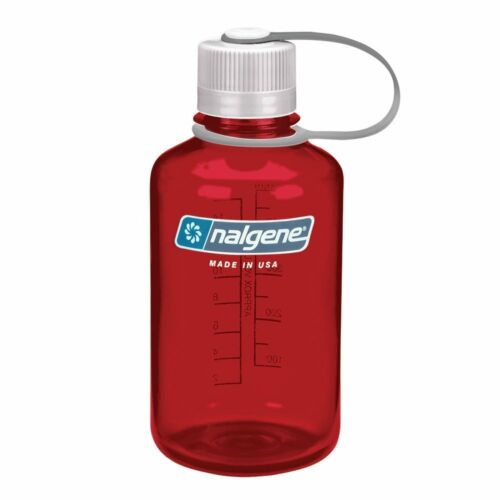 Nalgene Tritan Narrow Mouth BPA-Free Water Bottle 2 Sizes 11 Colors