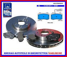 Bremsscheiben 2xTRW-DF6011S-323mm+ATE Beläge-VA-SEAT Leon (1M1)1.8,2.8 Cupra,div