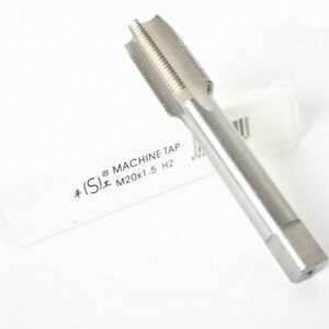 New1pc HSS Machine M20 X 1.25mm Plug Tap and 1pc M20 X 1.25mm Die Threading Tool
