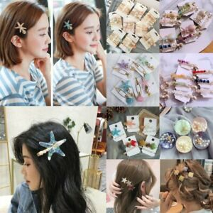 Beauty-Pearl-Starfish-Hair-Clip-Hairband-Bobby-Pin-Barrette-Hairpin-Headdress