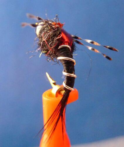 per 4 Higa/'s SOS Nymph Flies Fly Fishing * Great Trout Pattern 1//3 dozen