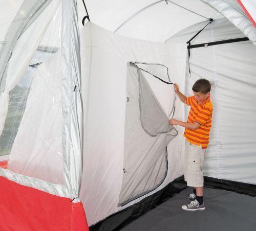 Innenzelt für Vorzelt Buszelt Kabine Camping Universal Schlafkabine 200x120cm
