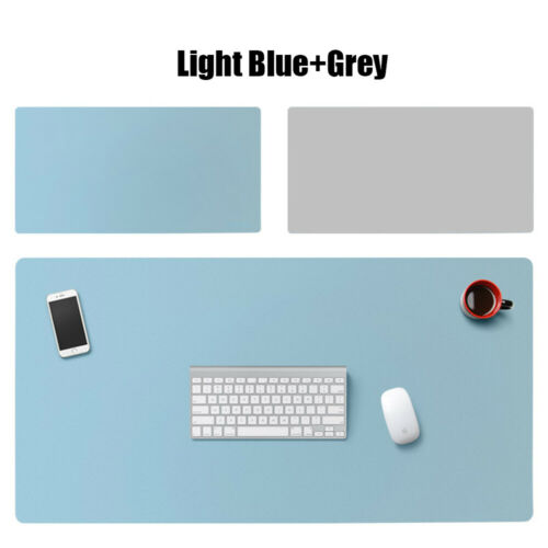 Game Laptop Large Home Office Desktop Double-sided Mouse Pad Table Mat Leather