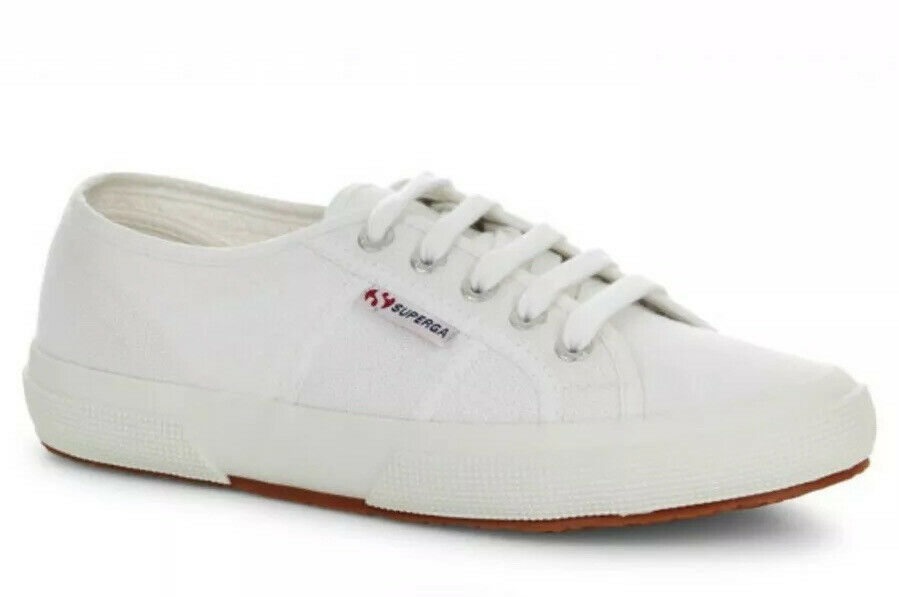 USS Superga damen 2750 COTU CLASSIC Weiß Trainers Uk 4 EU 37