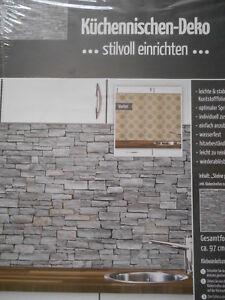 Kuchennischen Deko Wand Kuchen Spritzschutz Wandschutz Motiv