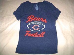 NFL Chicago Bears Football LS Team Logo Shirt Womens Sizes Majesitc Nwt Sports Mem, Cards & Fan Shop Fan Apparel & Souvenirs