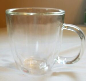 Details About Bodum Double Wall Mouth N Gl Mug W Handle 15 Oz Microwavable New Coffee