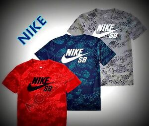 03547adbcee NEW DESIGN Nike SB All Over Printed Short Sleeved T-Shirt age 4-7 ...