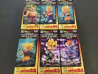 Dragon Ball Z World Collectable Figure WCF Doll BATTLE OF SAIYANS Vol.4 4 Set 6
