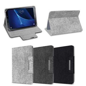 Handy-zubehör Handys & Kommunikation Tablet Tasche Samsung Galaxy Tab A 10.1 2019 Hülle Filz Case Schutz Cover Case