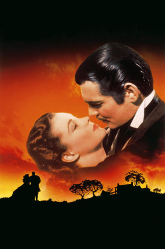 GONE WITH THE WIND DIY ITEM 5D Diy diamond painting  full drill 30 X 40 CM