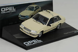 1982-1986-Opel-Senator-A2-Taxi-Beige-1-43-ixo-altaya-Collection