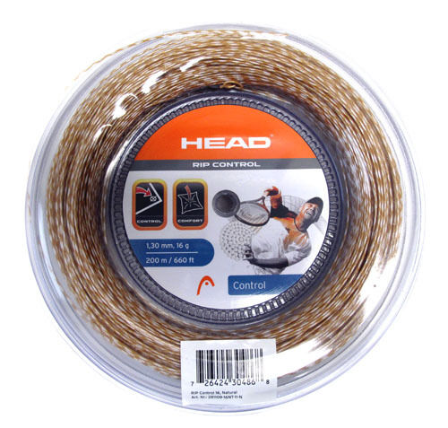 10c352631 HEAD Rip Control 16 Black Tennis Racquet String 660 Foot 200m Reel Auth  Dealer for sale online