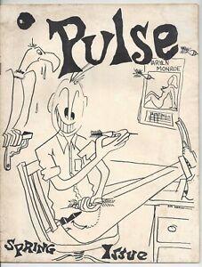 Marietta Ohio College 1954 Pulse Magazine Bob Goreth Camel Cigarette Ad Ohio