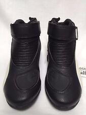 Puma Flat 2 V2 Men's Black/White Motorcycle Boots Size 38 EU, 6 US, 301462-09-38