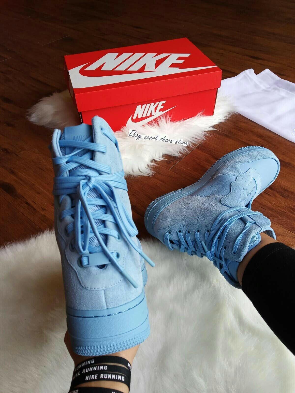 11.5 para mujer   10 para hombre NIKE AF1 REBEL XX Luz Azul AO1525 400 Zapatos informales