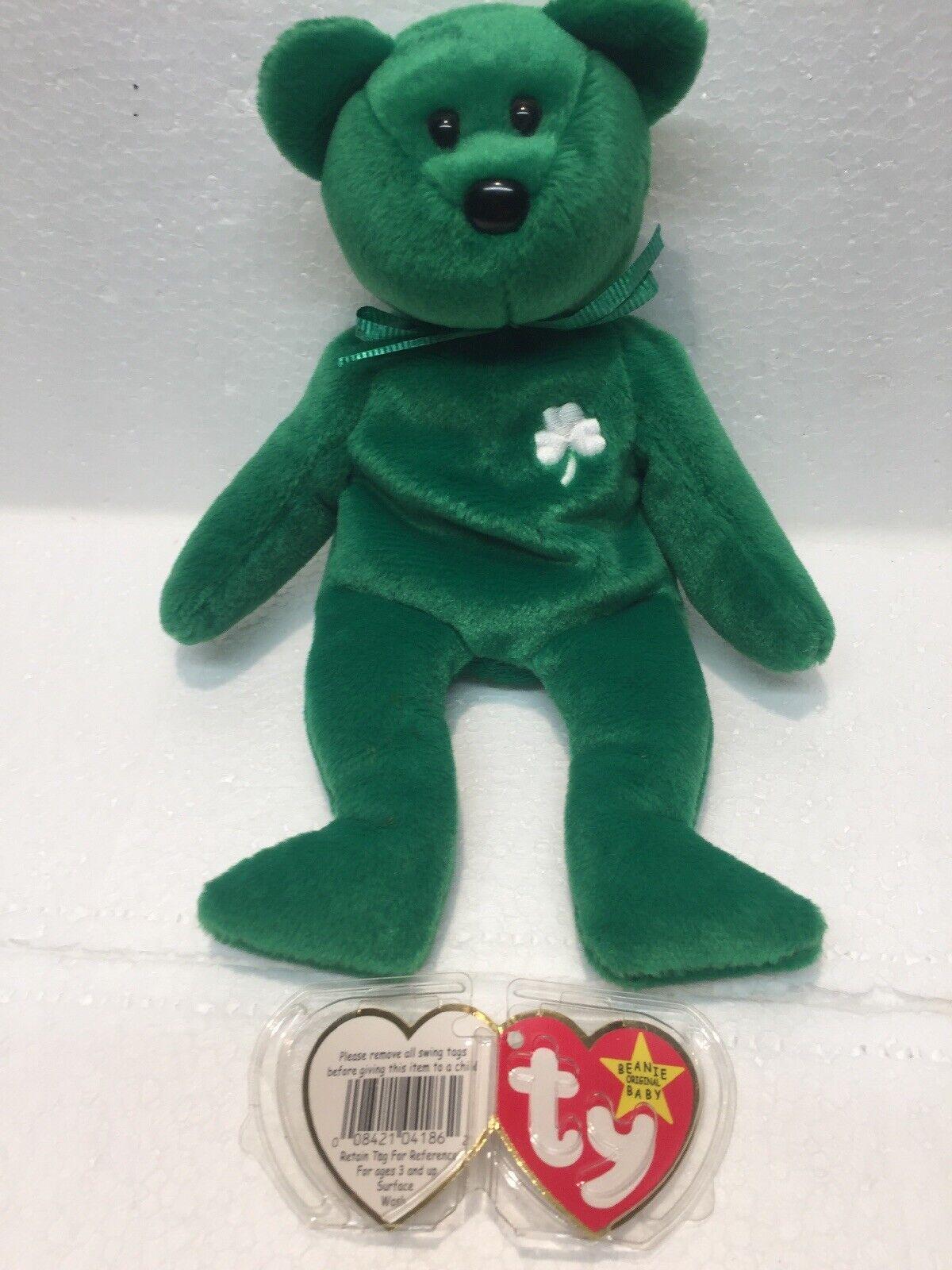 Ty Beanie Baby 1997 Erin The Bear