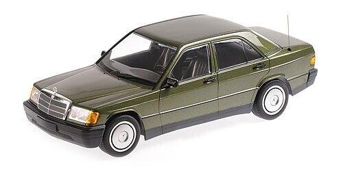 1982 GREEN METALLIC 1:18 Minichamps W201 MERCEDES-BENZ 190E