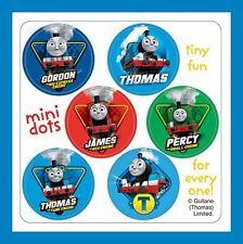 96 Thomas the Tank Engine Dot Stickers (16 Sheets) James Percy Gordon Train