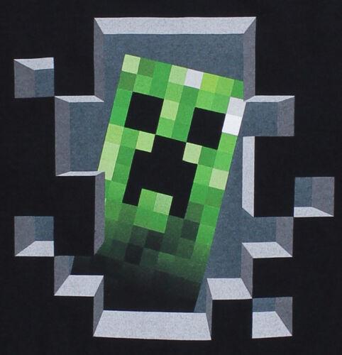 con licenza ufficiale Minecraft Creeper Inside bambini t-shirt MISURA A SCELTA