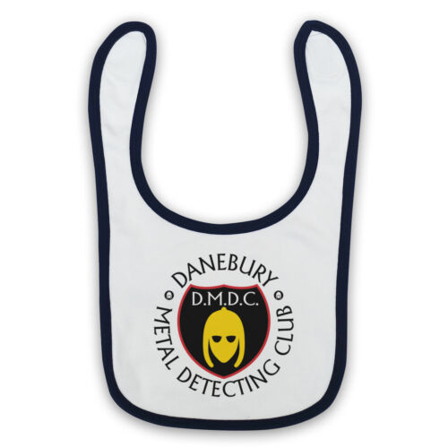 DETECTORISTS DANEBURY METAL DETECTING CLUB UNOFFICIAL BABY BIB CUTE BABY GIFT