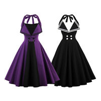 New 50s 60s Vintage Dress Rockabilly Swing Pinup Housewife Party Evening Dresses