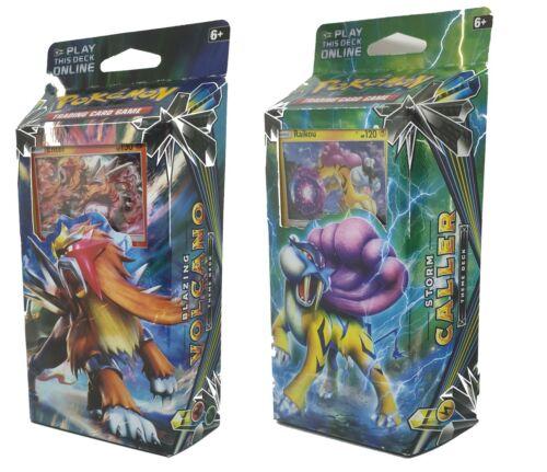Pokemon Sun /& Moon Lost Thunder Raikou /& Entei Decks