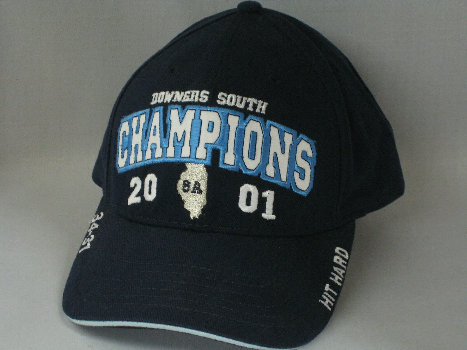 DOWNERS SOUTH - HIGH SCHOOL - SOUTH  FOOTBALL HAT - NAVY a0e0fd