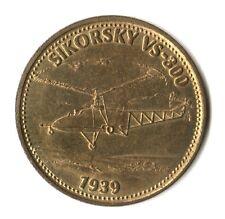 MEDAGLIA MEDAL SHELL VOLISTORIA - SIKORSKY VS-300 - 1939