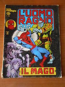 L-039-UOMO-RAGNO-gigante-n-24-serie-cronologica-ed-CORNO-fumetto-super-eroi